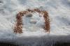 LandArt im Schnee