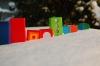 Buntes im Schnee