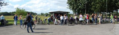Fast 40 Unternehmerinnen besuchten den Kreativhof Lehmberg