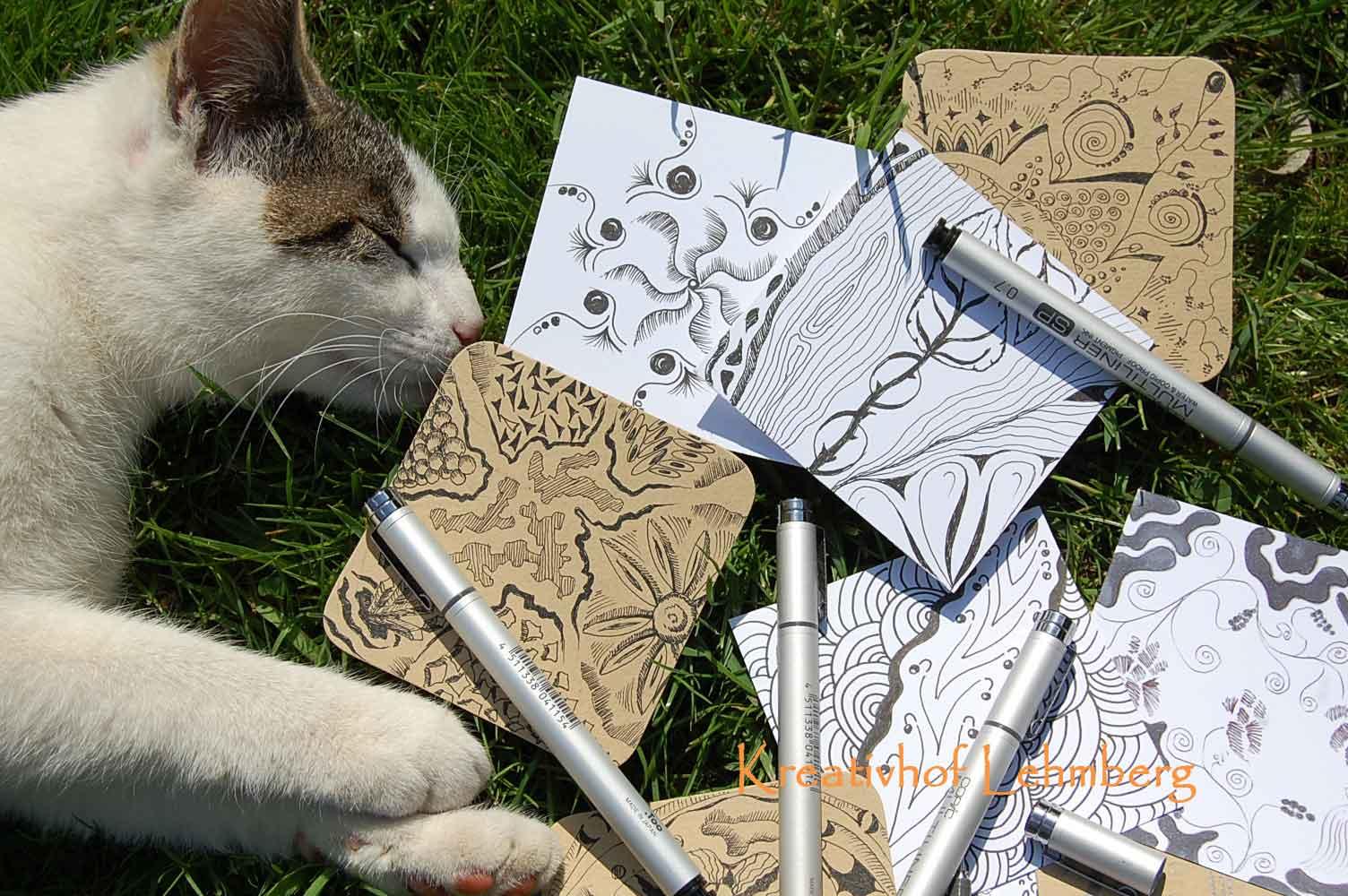 spontanes Zeichnen