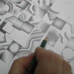 Grafit in Arbeit